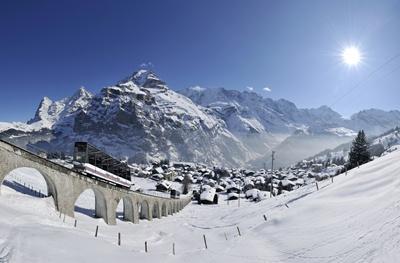 스위스[온천]일주